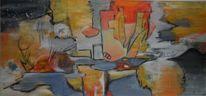Gemälde, Abstrakte malerei, Rot, Abstrakte kunst