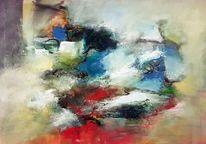 Abstrakte malerei, Abstrakte kunst, Acrylmalerei, Zeitgenössische malerei