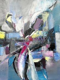 Blau, Moderne malerei, Moderne kunst, Grau