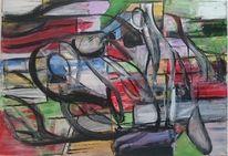 Abstrakte kunst, Schicht, Moderne malerei, Abstrakte malerei