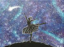 Malerei, Fantasie, Ballerina,