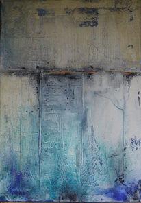 Pigmente, Marmormehl, Temperamalerei, Struktur