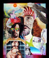 Fantasie, Akt, Augen, Figural