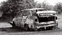 Auto, Verlassen, Apokalypse, Vergangenheit