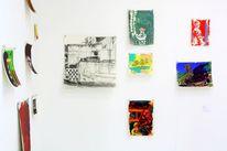 Malerei, Gemälde, Ausstellung, Pinnwand