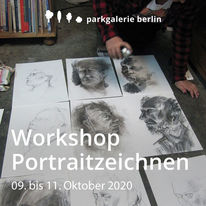 Berlin, Malkurs, Werkstatt, Portrait