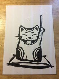 Neko, Taiko, Wadaiko, Katze