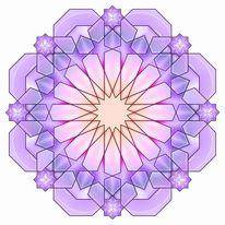 Mischtechnik, Abstrakt, Geometrie, Digitale kunst