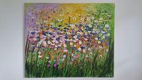 Kunstwerk, Blumen, Gabrieledenno, Monet