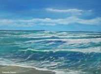 Ozean, Landschaft, Wellenreiten, Wellenschlag
