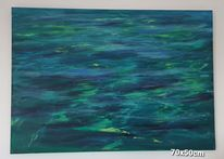 Gemälde, Meer, Malerei, Wasser
