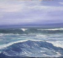 Brandung, Nordsee, Welle, Ozean