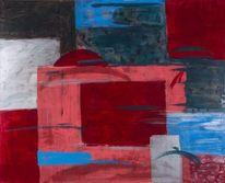 Acrylmalerei, Kreibig, Abstrakt, Ölmalerei
