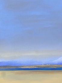 Malerei, Acrylmalerei, Meer, Landschaft