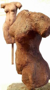 Ton, Figural, Skulptur, Kunsthandwerk