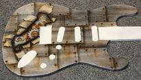 Gestaltung, Airbrush, Gitarre, Instrument