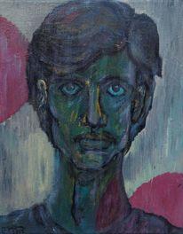 Existenzangst, Schwarz, Blau, Expressionismus