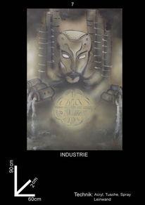 Comic, Figural, Science fiction, Illustrationen