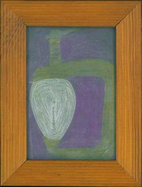 Abstrakt, Fadenbild, Figural, Kunsthandwerk