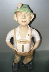 Töpferei, Keramik figur, Bayer, Kunsthandwerk
