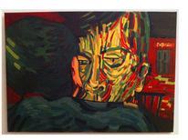 Menschen, Innenraum, Portrait, Gesicht