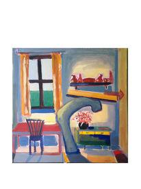 Wohnung, Fenster, Menschen, Raum