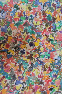 Fantasie, Abstrakt, Bunt, Zeichnungen