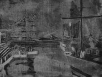 Gegenwartskunst, Radierung, Welt, Sicht