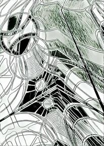 Bschoeni, Struktur, Knallig, Abstrakt