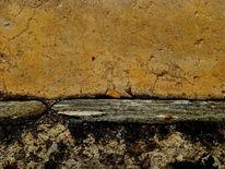 Maserung, Abstrakt, Mauer, Bschoeni