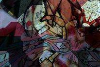 Bunt, Bschoeni, Graffiti, Abstrakt