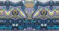 Graffiti, Abstrakt, Bschoeni, Digitale kunst