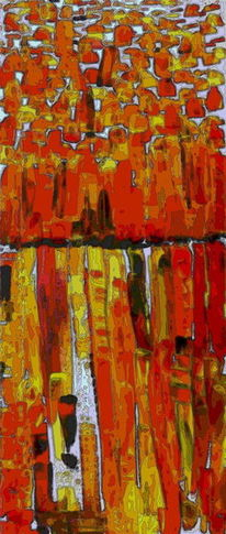 Struktur, Rot, Bunt, Gelb