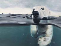 Eis, Eisbär, Bär, Wasser