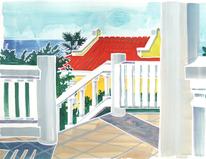 Curacao, Naiv, Karibik, Idylle