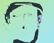 Digital, Expressionismus, Figural, Portrait