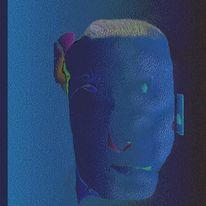Portrait, Figural, Digital, Artung