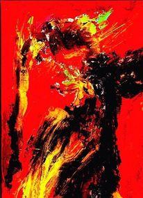 Digital, Fantasiewesen, Ölmalerei, Malerei