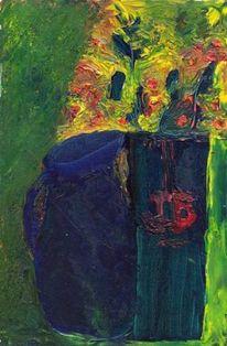 Ölmalerei, Expressionismus, Figural, Malerei
