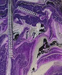 Struktur, Schmuck, Acrylmalerei, Freude