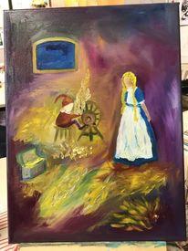 Ölmalerei, Märchen, Grimm, Rumpelstilzchen