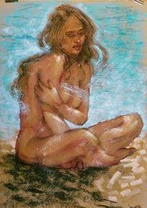 Wasser, Strand, Sonne, Zeichnungen