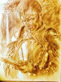 Portrait, Characterhead, Gameofthrones, Zeichnungen