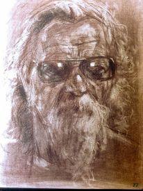Sonnenbrillen, Zeichnung, Zeichnungen, Studie