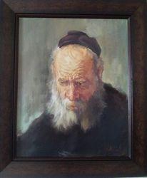 Malerei, Mann, Portrait, Kopie