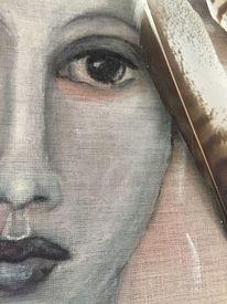 Vogelfrau, Freiheit, Malerei,