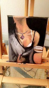 Portrait, Malerei, Frau