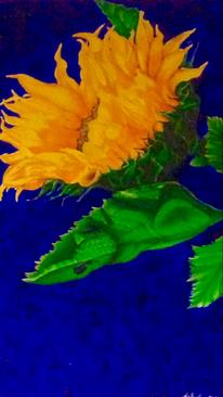Blüte, Blätter, Gelb, Sonnenblumen
