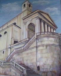 Italien, Ansicht von unten, Duomo, Malerei