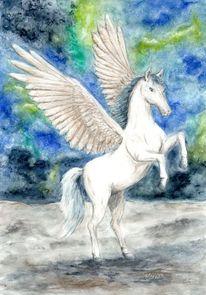 Fantasie, Pegasus, Mythologie, Pferde